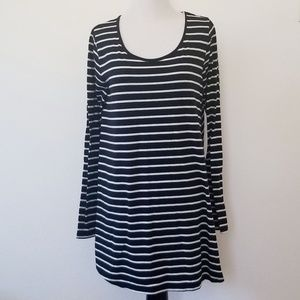 Mossimo Supply Co. Black & White Parachute Dress